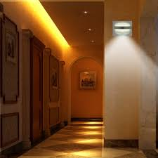 Hallway Wall Sconces Z Edge Motion Sensor Activated Led Wall Sconce Night Light