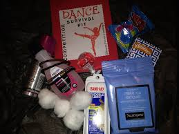 dance competition survival kit or guard competition either one