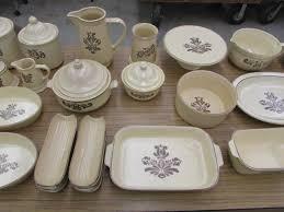 pfaltzgraff dinnerware and servingware doerr auction