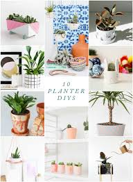 diy planters 10 diy planters the crafted life