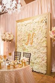 wedding backdrop gold 10 brilliant flower wall wedding backdrops for 2018 oh best day
