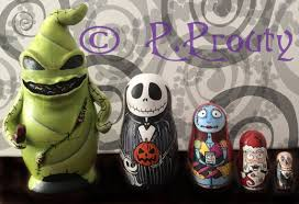 totally cool nightmare before nesting dolls