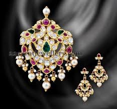 pachi work earrings pachi work pendant pendants indian jewelry and ethnic
