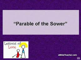 parable of the sower verson 2 flip chart ebibleteacher