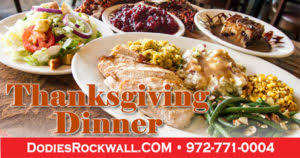 dodie s at the harbor offers thanksgiving dinner or cajun fried