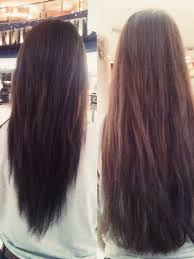 pictures of v shaped hairstyles v shaped layered haircut long hair hairstyles pictures