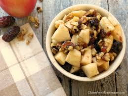 autumn fruit salad gluten free homemaker