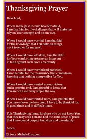 thanksgiving prayer thanksgiving prayer micheleelise