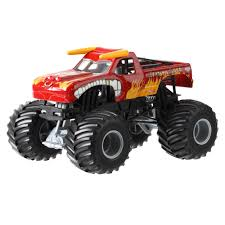 remote control monster truck videos wheels monster jam 1 24 el toro loco die cast vehicle