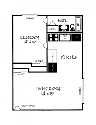 1 bedroom apartment plans one bedroom apartments floor plans best 25 one bedroom apartments