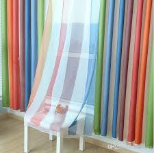 Boys Room Curtains 2017 Rainbow Curtains Sheers Boys Girls Bedroom Curtains Dhl