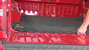installation of a bedrug custom truck bed mat on a 2011 chevrolet