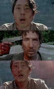 Walking Dead Meme Generator - walking dead glenn nicholas thank you blank template imgflip