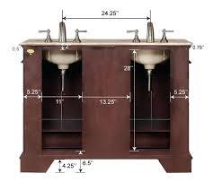 48 single sink vanity with backsplash 48 single sink vanity design element e inch single sink modern