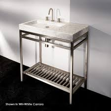Console Bathroom Sinks Furnitures Furnitures Art Deco Console Sink Undermount With
