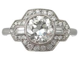 art deco diamond ring platinum art deco jewellery