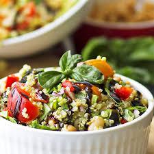 tuscan white bean and quinoa salad healthy gluten free vegan