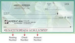 routing number american savings bank hawaii