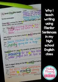 Sentence For Opulent 131 Best Middle Writing Great Ideas Images On Pinterest