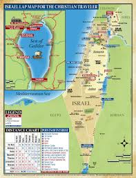 Judea Map Walk About Zion Travel Maps