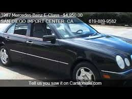 1997 mercedes e class e420 1997 mercedes e class e420 4dr sedan for sale in san di