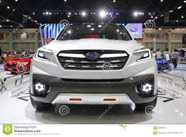 Bangkok March 31 Subaru Forester 2 0 Xt On White Car At The