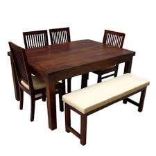 4 seater dining table with bench brown 4 seater dining table with bench dining sets dining