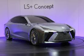 lexus purple lexus ls concept previews the brand u0027s autonomous future in tokyo