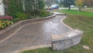 Paving Stones Patio Pour Boys Stone And Concrete Thunder Bay Concrete Interlock