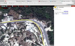 Likely Syrian Missile Targets In Google by Evidence Of Large Unguided Blast Bombs Reported From Syria
