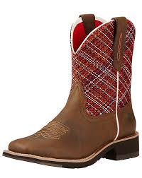womens boots toe ariat s rosie 8 square toe boot sunset toasted brown
