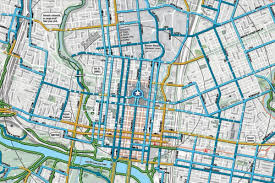 Austin Zoning Map by Austin Bike Map Bike Map Austin Texas Usa