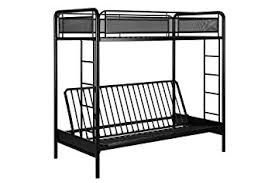 Metal Bunk Bed Frame Dhp Rockstar Metal Bunk Bed Futon Black