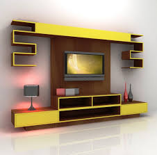 tv on the wall ideas mount hide wires wooden with floating shelves
