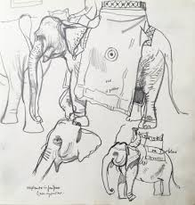 an indian sketch book leon morrocco archives john martin gallery