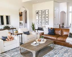 Living Rooms With Leather Sofas Living Room With Leather Sofa Coma Frique Studio Da78f9d1776b
