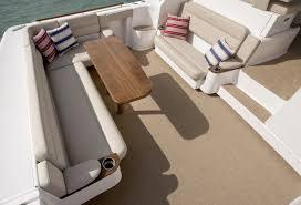 Boat Vinyl Flooring by Infinity Luxury Woven Vinyl Chicago Marine Canvas Custom Boat