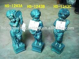 cast iron garden statues antique large cast iron garden statues buy