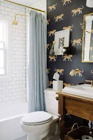 bathroom with wallpaper ideas best 25 bathroom wallpaper ideas on half bathroom
