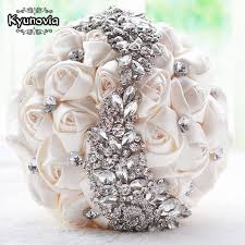 wedding accessories aliexpress buy kyunovia wedding bouquet brooch