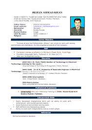 Sample Resume Format For 12th Pass Student by Sample Resume Format Resume Free Download Template