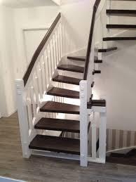 treppe sanieren modernes wohndesign kleines modernes haus idee renovieren treppe