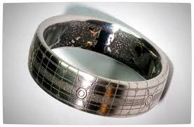 halo wedding ring titanium halo wedding ring is gorgeous vamers