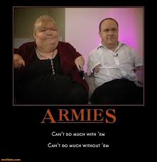 Sick And Twisted Memes - demotivational poster armies