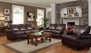 decorate a living room living room with dark brown leather couches inspiring with living