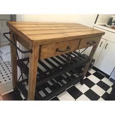 crosley furniture kitchen cart crosley furniture roots rack industrial kitchen cart aptdeco