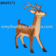 Christmas Reindeer Statue Decorations by Ceramic Reindeer Christmas Decoration Ceramic Reindeer Christmas