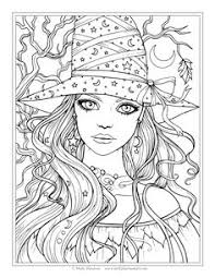 autumn scenes pumpkins coloring pages halloween 2