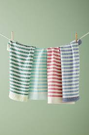 cabana striped dish towel set anthropologie