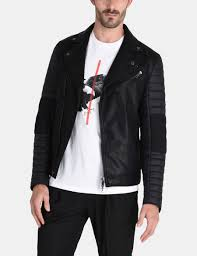 best mens leather motorcycle jacket armani exchange men u0027s coats u0026 jackets a x store